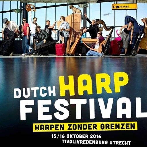 Dutch Harp Festival: grenzen van muziek & wetenschap